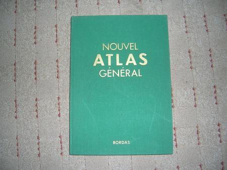 """Achat : Collection : """"nouvel"""" atlas general bordas  (Livres anciens) - Livres anciens neuf et d'occasion - Achat et vente"""