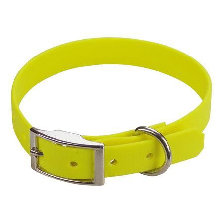 Achat : Collier biothane beta 19 x 45 cm jaune  (Colliers pour chiens) - Colliers pour chiens neuf et d'occasion - Achat et vente