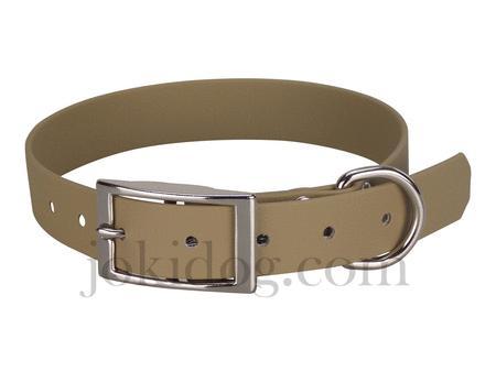Achat : Collier biothane beta 25 x 60 cm marron clair  (Colliers pour chiens) - Colliers pour chiens neuf et d'occasion - Achat et vente