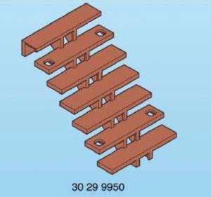 Escalier bois playmobil