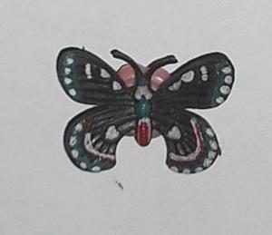 Magnet papillon 16