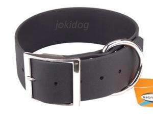 Collier biothane beta 50 x 80 cm noir - jokidog