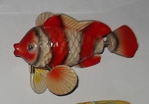 Magnet en résine - poisson tropical
