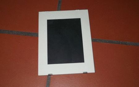 Achat : Cadre sous verre sans moulure avec cache 18 x 24  (Cadres) - Cadres neuf et d'occasion - Achat et vente