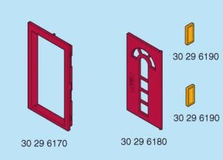 Achat : Playmobil porte complete + poignées + encadrement  (Playmobil & play-big) - Playmobil & play-big neuf et d'occasion - Achat et vente