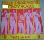 The Osmonds Crazy Horses (Vinyles (musique)) - Vinyles (musique) neuf et d'occasion - Achat et vente