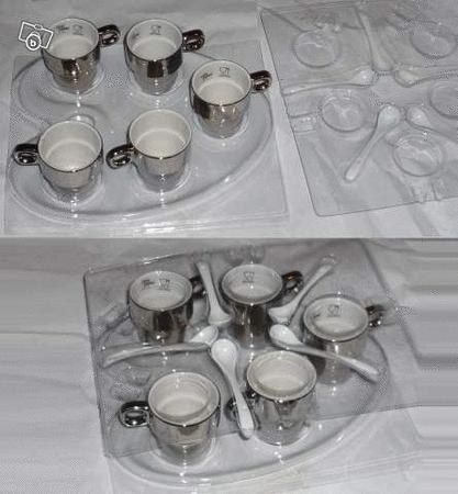 Achat : Service moka expresso ou the cosy trendy  (Tasses) - Tasses neuf et d'occasion - Achat et vente