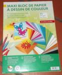 Loisirs Créatifs - Bloc Papier À Dessin De Couleur (Autres Jeux Créatifs) - Autres Jeux Créatifs neuf et d'occasion - Achat et vente