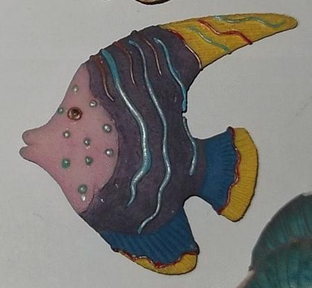 Achat : Magnet en résine - poisson tropical  (Autres objets décoratifs) - Autres objets décoratifs neuf et d'occasion - Achat et vente
