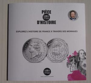 Dépliant monnaie de paris pièce d'histoire 2019