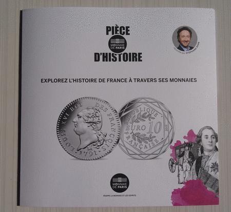 Achat : Dépliant monnaie de paris pièce d'histoire 2019  (Pièces) - Pièces neuf et d'occasion - Achat et vente