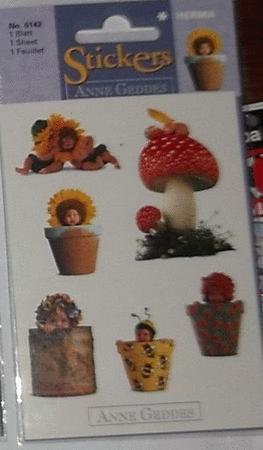 Achat : Loisirs créatifs-scrapbooking-stickers anne geddes  (Autres jeux créatifs) - Autres jeux créatifs neuf et d'occasion - Achat et vente