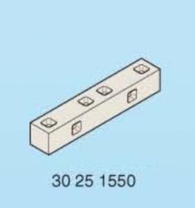 Playmobil socle jonction cadre gris 90x15