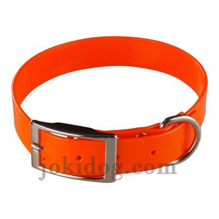 Achat : Collier biothane 25 mm x 60 cm orange  (Colliers pour chiens) - Colliers pour chiens neuf et d'occasion - Achat et vente
