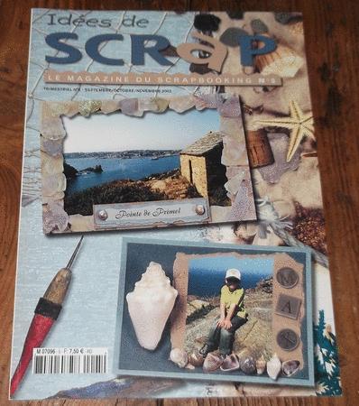 Achat : Idées de scrap - le magazine du scrapbooking - n°5  (Loisirs, nature (livres)) - Loisirs, nature (livres) neuf et d'occasion - Achat et vente