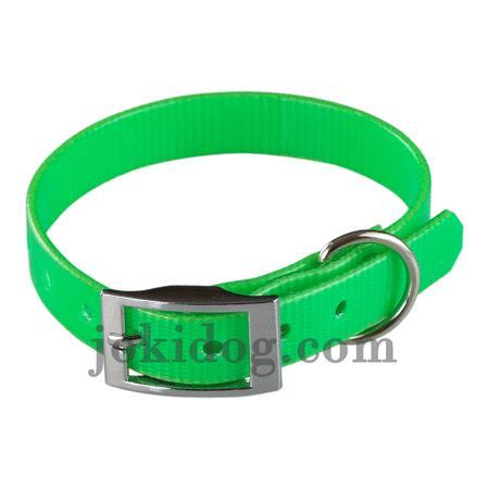 Achat : Collier biothane 16 mm x 35 cm vert  (Colliers pour chiens) - Colliers pour chiens neuf et d'occasion - Achat et vente