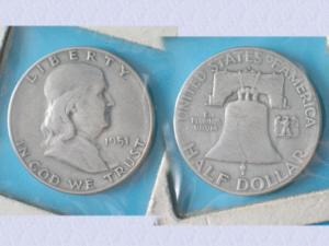 Piece de collection : usa – half dollar – 1951