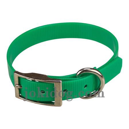 Achat : Collier biothane 19 mm x 45 cm vert foncé  (Colliers pour chiens) - Colliers pour chiens neuf et d'occasion - Achat et vente