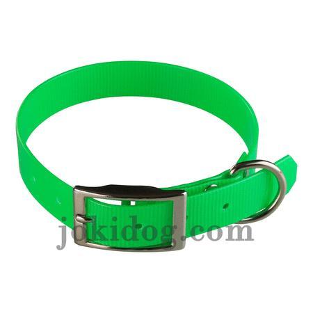 Achat : Collier biothane 25 mm x 55 cm vert  (Colliers pour chiens) - Colliers pour chiens neuf et d'occasion - Achat et vente
