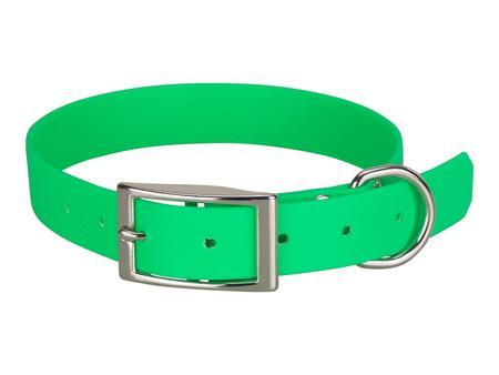 Achat : Collier biothane beta 25 x 55 cm vert  (Colliers pour chiens) - Colliers pour chiens neuf et d'occasion - Achat et vente
