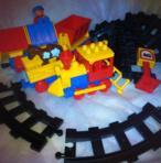 LEGO DUPLO VINTAGE Train Express Locomotive (Jouets En Plastique) - Jouets En Plastique neuf et d'occasion - Achat et vente
