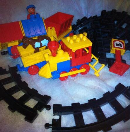 Achat : Lego duplo vintage train express locomotive  (Jouets en plastique) - Jouets en plastique neuf et d'occasion - Achat et vente