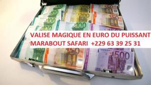 Valise magique en euro +229 63 39 25 31