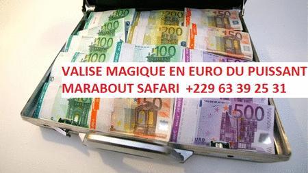 Achat : Valise magique en euro +229 63 39 25 31  (Locations vacances) - Locations vacances neuf et d'occasion - Achat et vente