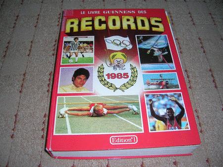 Achat : Le tres fameux guiness des records  (Documentation livres) - Documentation livres neuf et d'occasion - Achat et vente