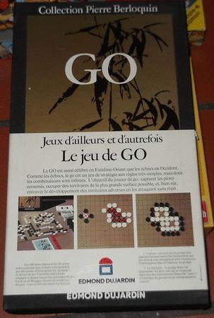 Achat : Jeu de go - collection pierre berloquin  (Jeux de go) - Jeux de go neuf et d'occasion - Achat et vente