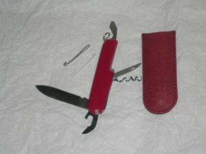 Couteau multifonctions pratique et peu encombrant