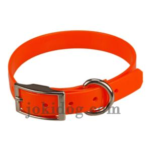 Collier biothane 19 mm x 45 cm orange
