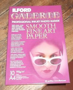 Papier photo pro pour imprimante jet d'encre