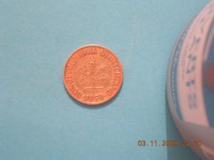 Pièce - allemagne - 10 pfennig - 1950