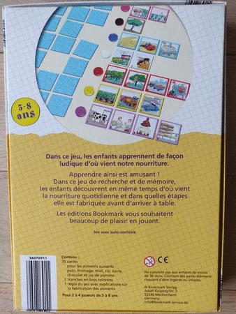Achat : Jeu apprendre en jouant la nourriture  (Jeux connaissances générales) - Jeux connaissances générales neuf et d'occasion - Achat et vente