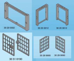 Cage zoo ou prison  playmobil