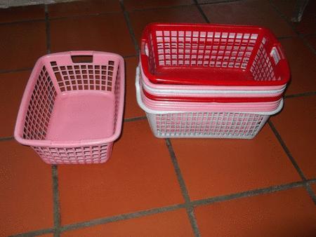 Achat : Paniers curver de différentes couleurs  (Paniers à linge) - Paniers à linge neuf et d'occasion - Achat et vente