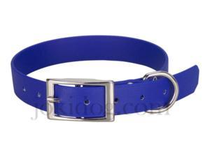 Collier biothane beta 25 x 60 cm bleu - jokidog