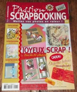 "Magazine ""passion scrapbooking"" - n°6"