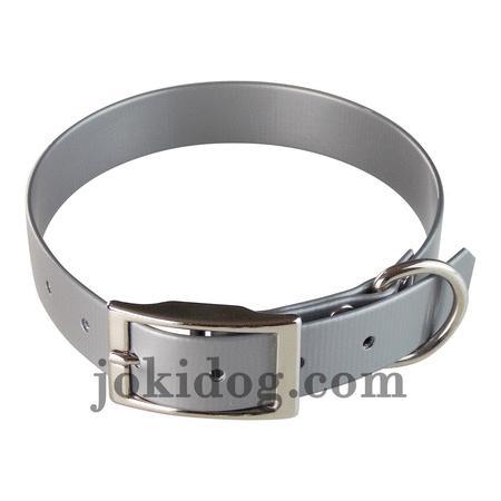 Achat : Collier biothane 25 mm x 55 cm gris  (Colliers pour chiens) - Colliers pour chiens neuf et d'occasion - Achat et vente