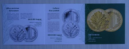 Achat : Dépliant de la monnaie de paris la nature 2020  (Pièces) - Pièces neuf et d'occasion - Achat et vente