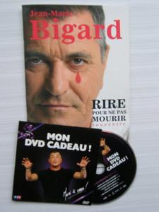Livre et dvd neuf jean-marie bigard