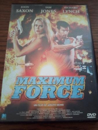 Achat : Maximum force  (Dvd) - Dvd neuf et d'occasion - Achat et vente