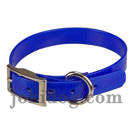 Achat : Collier biothane 19 mm x 45 cm bleu roi  (Colliers pour chiens) - Colliers pour chiens neuf et d'occasion - Achat et vente