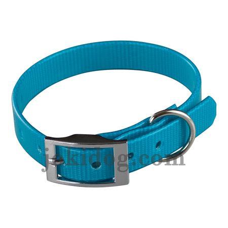 Achat : Collier biothane 16 mm x 35 cm turquoise  (Colliers pour chiens) - Colliers pour chiens neuf et d'occasion - Achat et vente