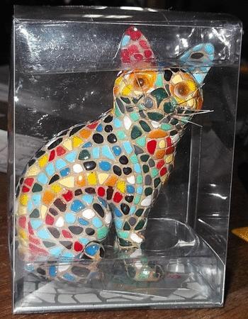 Achat : Statuette chat mozaïque  (Bibelots) - Bibelots neuf et d'occasion - Achat et vente