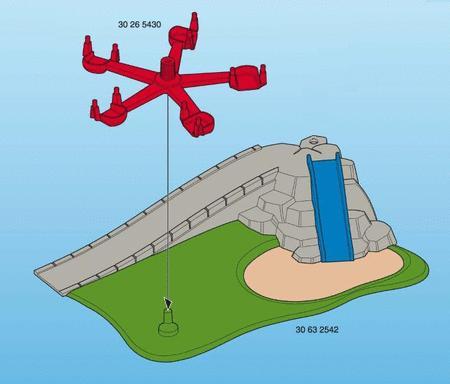 Achat : Playmobil aire de jeu avec tobogan et manège  (Playmobil & play-big) - Playmobil & play-big neuf et d'occasion - Achat et vente