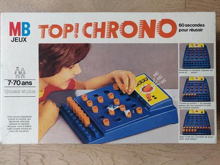 Achat : Jeu top chrono  (Autres jeux en famille) - Autres jeux en famille neuf et d'occasion - Achat et vente