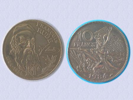 Achat : Belle piece 10 f - centenaire francois rude - 1984  (Pièces) - Pièces neuf et d'occasion - Achat et vente