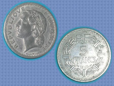 Achat : Piece - france - 1945 - 5 f  (Pièces) - Pièces neuf et d'occasion - Achat et vente